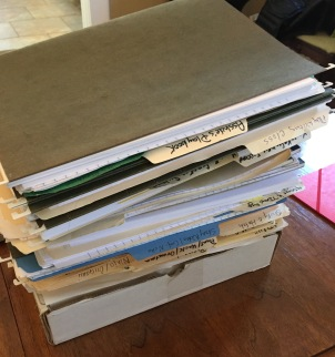 Out of my huge stack of beloved projects...